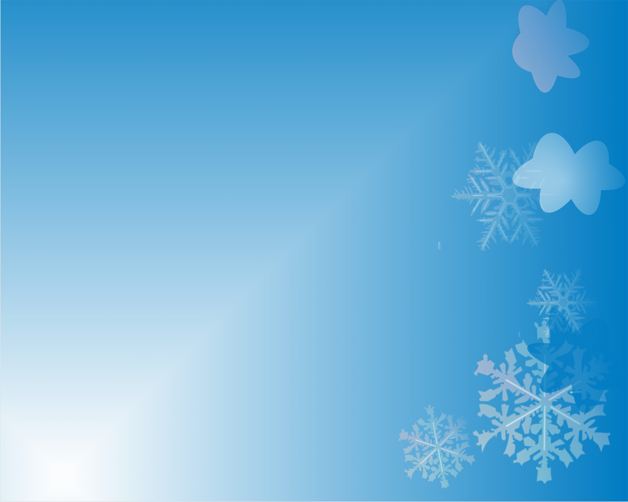 snow in blue – 1001 christian clipart, Modern powerpoint