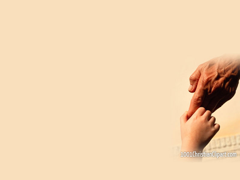 Holding My Father S Hand 1001 Christian Clipart